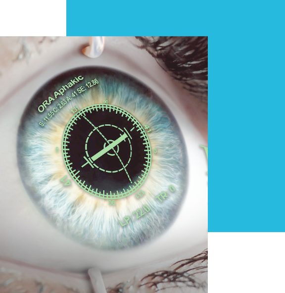 多焦点眼内レンズについて手術イメージ
